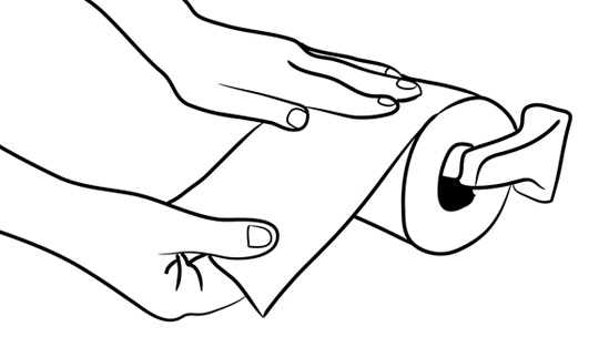 How To Wipe Your Butt: Figure 3-1