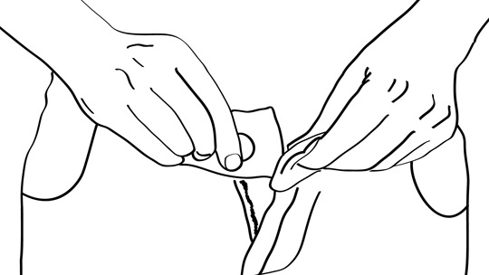 How To Wipe Your Butt: Figure 5-2