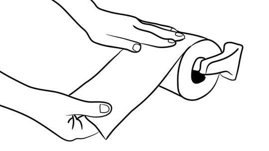 How To Wipe Your Butt: Figure 2-1