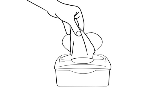 How To Wipe Your Butt: Figure 4-1